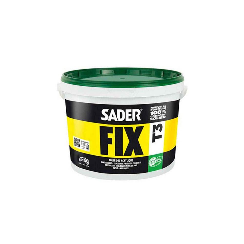 Colle acryilique sol pvc Saderfix T3 6kg