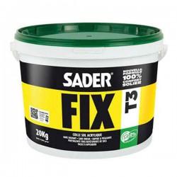 Colle acrylique Saderfix T3 - 20kg sol PVC
