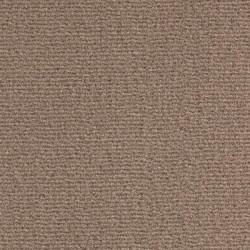 Moquette marron châtain en fibres synthétiques