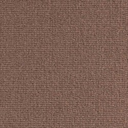 Moquette marron chocolat, fibres de polyamide