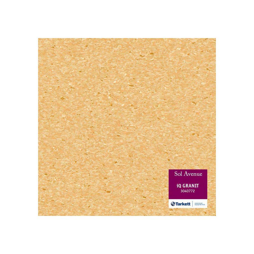 Sol PVC Tarkett jaune paille 3040772 - locaux collectifs