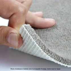 Moquette marron taupe en laine, image réalisée en studio photo