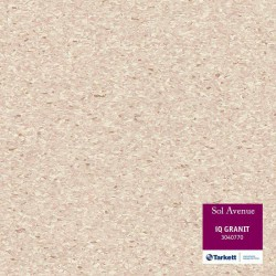 Sol PVC Tarkett beige sable 3040770 - locaux collectifs