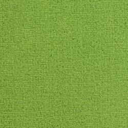 Moquette vert pomme en fibres de polyamide