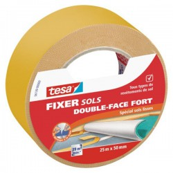 Double face universel, fixation forte 25m x 50mm