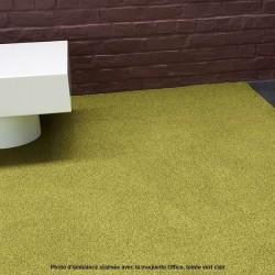 Collection Office, moquette synthétique de couleur vert clair