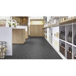 Dalle PVC plombante Tarkett Granit gris noir 4697004