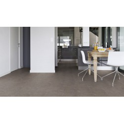 Dalle PVC clipsable Gerflor Carmel 618, imitation b�ton