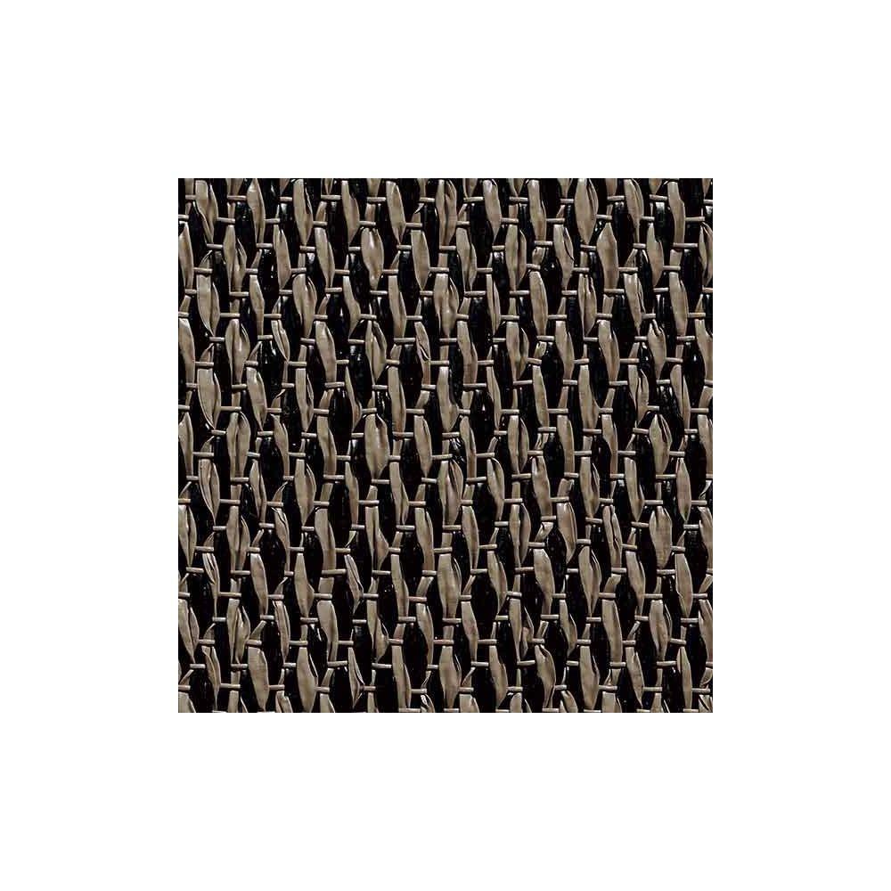 Vinyle Tiss� Bolon Sisal Nature Black 51204190, dalle 50 x 50 cm